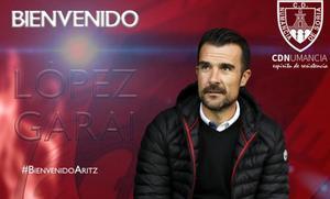 El vizcaíno López Garai se hace con las riendas del Numancia