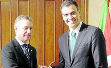 Sánchez recibe hoy a Urkullu necesitado de escenificar acuerdos con los nacionalistas