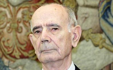 Fallece Jesús Cardenal, el fiscal general del Estado que inició la ilegalización de Batasuna