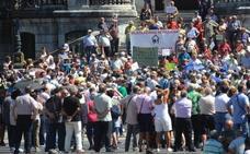 Los pensionistas vizcaínos, sin intención de interrumpir las protestas por ahora