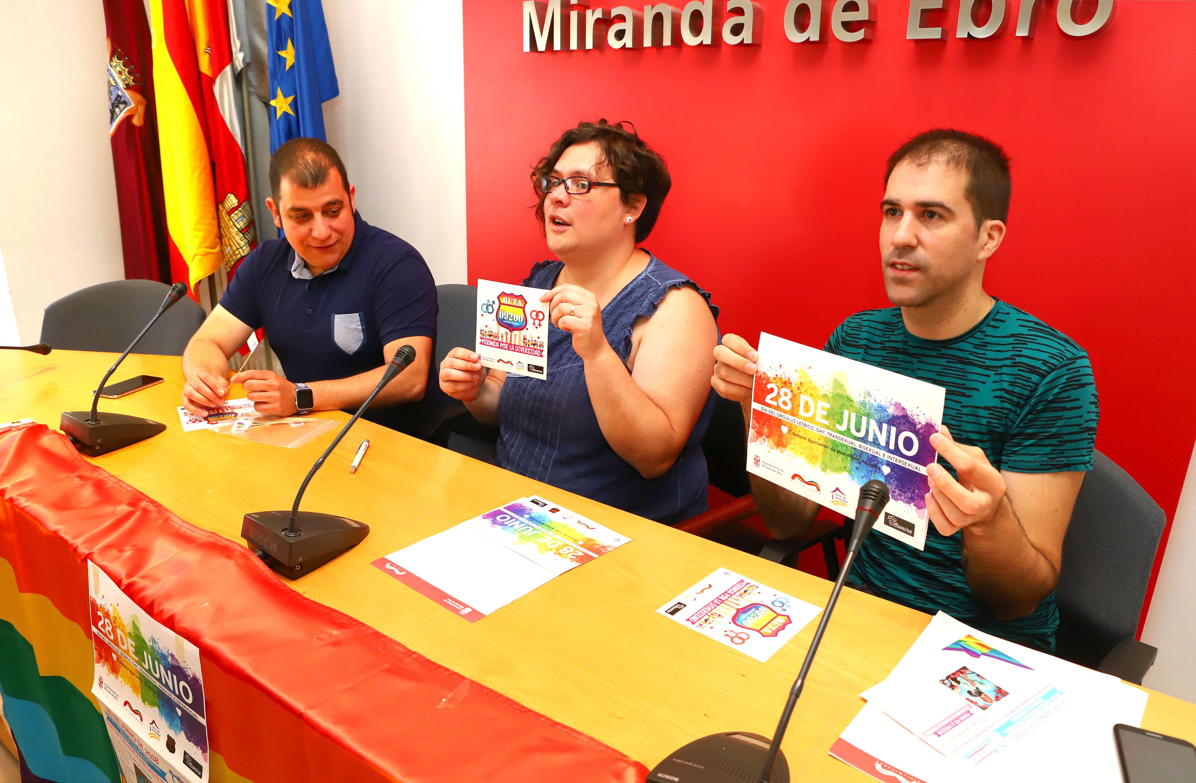 Miranda celebrará el Día del Orgullo con actividades festivas y de concienciación