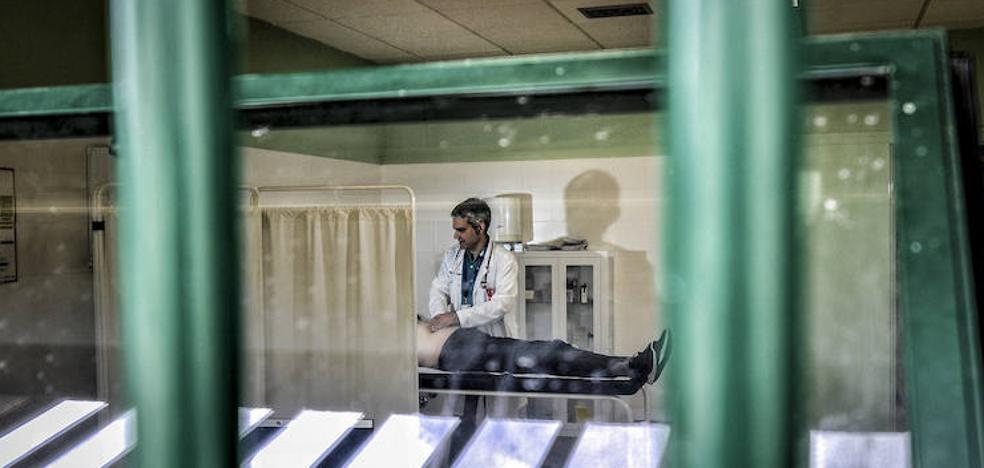 Salud entre las rejas de la cárcel de Álava