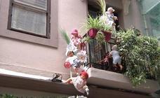 Zazpi kaleetako balkoien dekorazio lehiaketa amaitzear dago