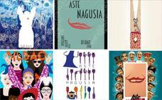 Los seis carteles finalistas de la Aste Nagusia