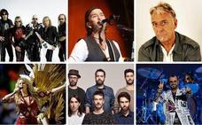Avalancha de estrellas de la música en Bizkaia