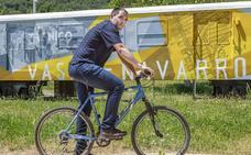 Mikel Herrador: «Quiero servicios para que la gente se quede en la Montaña alavesa»