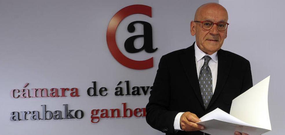 Gregorio Rojo, reelegido por unanimidad presidente de la Cámara de Comercio de Álava