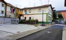 Etxebarri termina las obras de los cantones de San Antonio a falta de instalar juegos infantiles