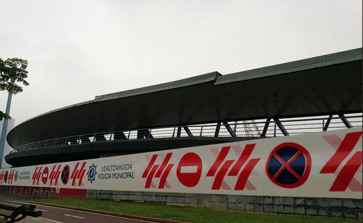 Cierra el puente Euskalduna por un deslizamiento en su estructura