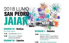 Programa de fiestas de Lumo 2018: San Pedro Jaiak