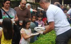 Un primer plato festivo con sabor a sardinas en Berriz
