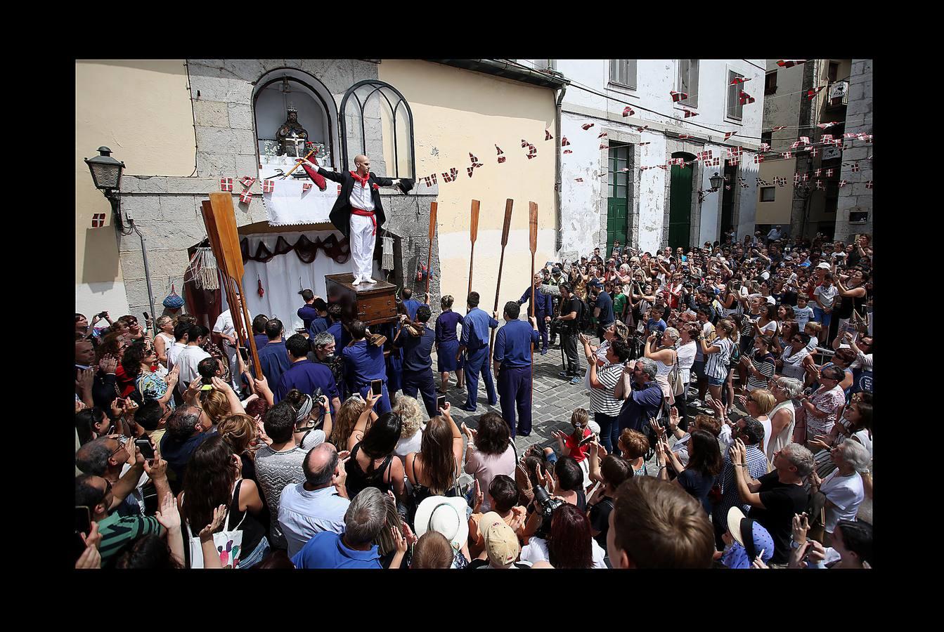Lekeitio celebra el día de San Pedro por todo lo alto