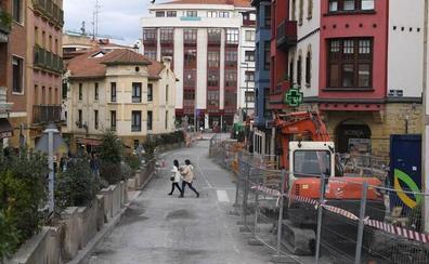 Getxo retomará en unos días la reforma de la avenida de Algorta