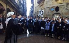 El coro de Arratia canta a Santa Águeda en Catania