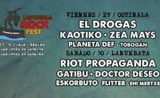 Suspendidos por las lluvias los conciertos de este viernes de Lapuebla Rock Fest