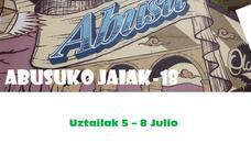 Programa de fiestas de Arrigorriaga 2018: Abusuko Jaiak