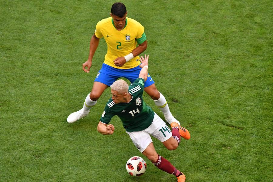 Las mejores imágenes del Brasil-México