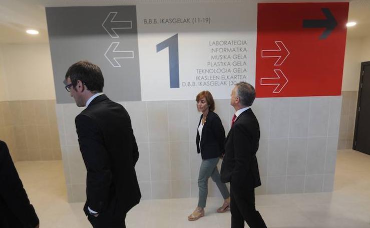 El nuevo instituto de Zabalgana abrirá sus puertas en septiembre