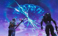 El cohete de Fortnite ha creado una grieta en el cielo del juego
