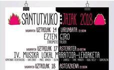 Conciertos de las fiestas de Santutxu 2018: Santutxuko jaiak
