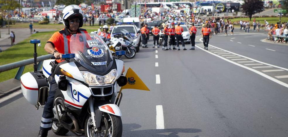 La Ertzaintza admite que sus motos tienen «muchos kilómetros»