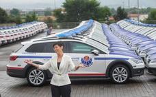 La Ertzaintza ya tiene en la calle 150 nuevos coches patrulla
