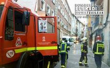 Los bomberos salvan la vida a un perro y un gato de un incendio en Vitoria
