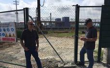 Los vecinos denuncian «vibraciones salvajes» en las obras del parking de Ibarbengoa