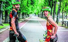 Triatlón de Vitoria, debutantes sin complejos