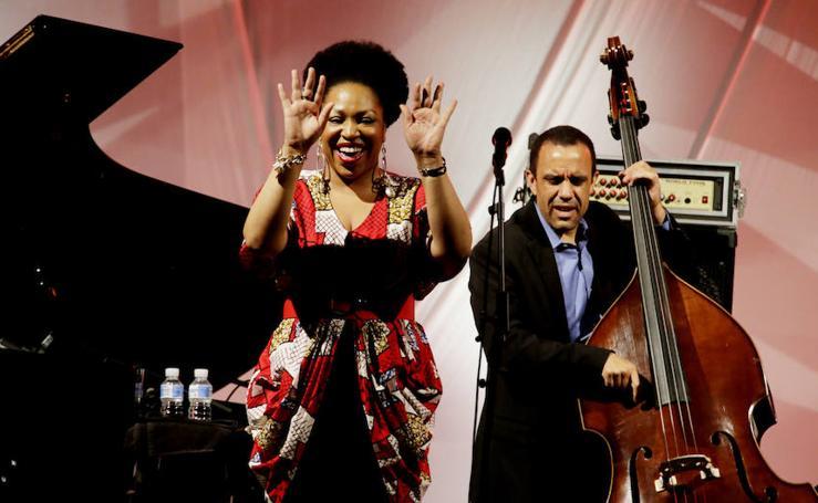 Charenée Wade, en el 42º Festival Internacional de Jazz de Getxo