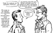 «Dibujando a Edu y Fermin cuento la vida de muchísimos vascos anónimos»