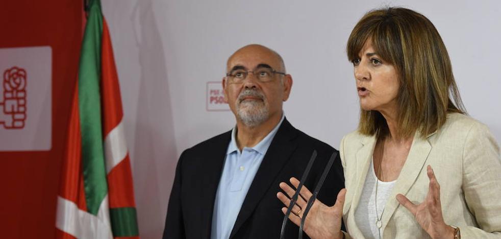 El PSE acusa al PNV de dar la espalda a la «pluralidad» vasca en las bases soberanistas del Estatuto