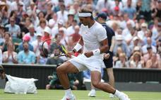 Nadal le resta un partido a Wimbledon