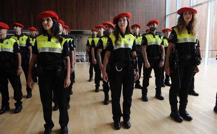 Bilbao recurre por primera vez a interinos para reforzar la Policía Municipal