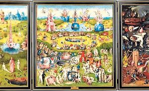 El bestiario de 'El jardín de las delicias', un recorrido interactivo por el mítico cuadro del Bosco