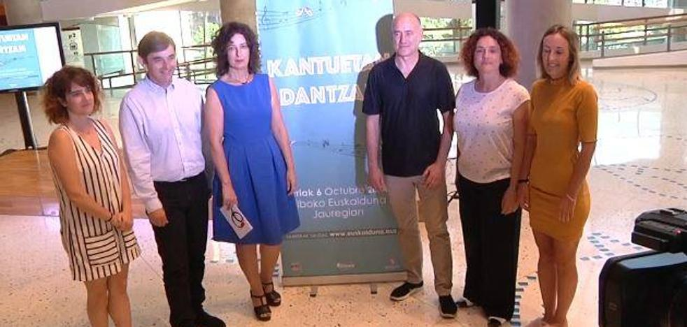 Kantuetan Dantzan: euskal abestien koreografiak, Euskaldunan