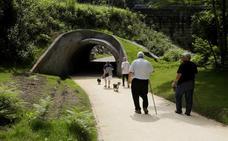 Muskiz completa su paseo fluvial con la apertura de los 4 kilómetros hasta El Pobal