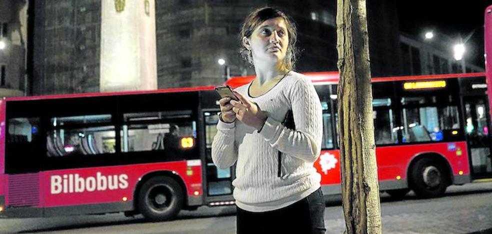 «Del bus a mi casa son dos minutos, pero voy con las llaves en la mano»