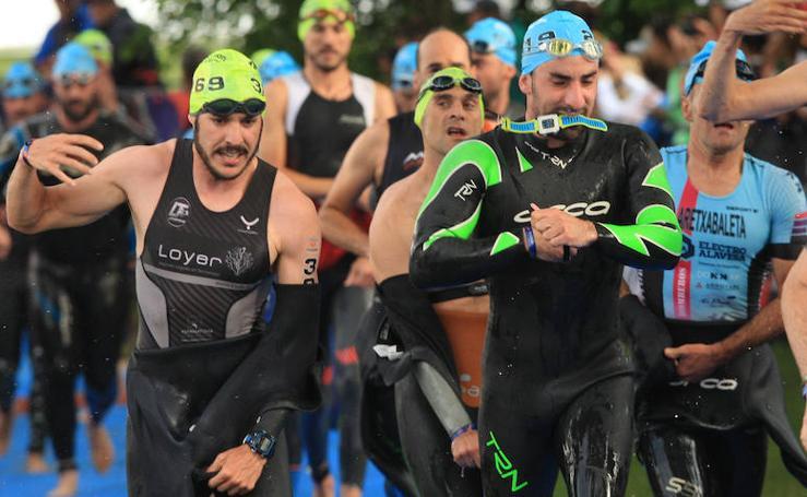 Las mejores fotos del Triatlón de Vitoria 2018