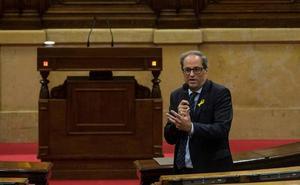 Cataluña regresa a la política