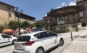 La Policía de Haro no puede hacer uso de tres de sus cinco vehículos patrulla