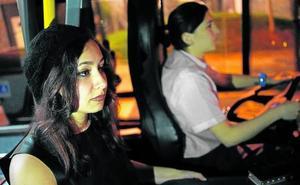 Catorce mujeres han utilizado las paradas 'antiacoso' de Bilbobus en una semana