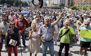 El movimiento de pensionistas vascos pierde fuerza