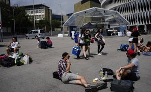 Bilbao recibe a los primeros festivaleros del BBK Live