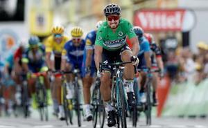 Valverde asoma en la segunda etapa de Sagan
