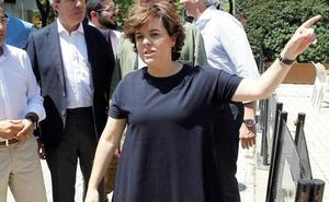 Soraya Sáez de Santamaría asistirá a los actos de recuerdo a Miguel Ángel Blanco de mañana en Ermua