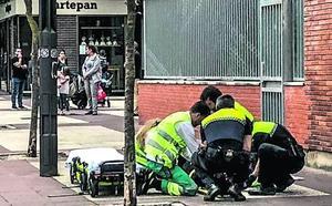 Prisión sin fianza para el hombre que dejó inconsciente a su expareja en Vitoria