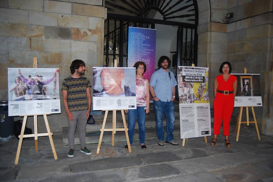 Durango visibiliza la lucha por la libertad sexual en África
