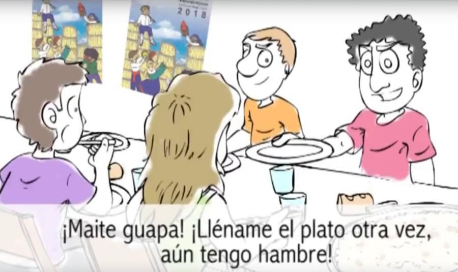 Campaña en Arrigorriaga contra los actos machistas y sexistas en las fiestas
