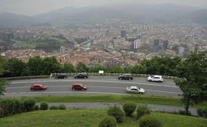 La carretera de Artxanda se convertirá en un paseo-mirador sobre Bilbao